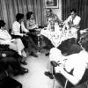 Montserrat Minobis entrevista per a la revista Oriflama les forces polítiques del País Valencià. Maig de 1975.