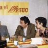Magda Ballester durant la campanya de les eleccions municipals de 1979.
