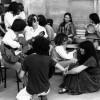 Maria Favà a la presó de dones de La Trinitat. Estiu de 1978.
